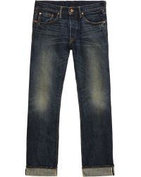 Bliss and Mischief - Raw Japanese Selvedge Jeans - Blue - Lyst