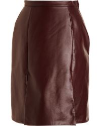 Rodarte x Opening Ceremony Leather Skirt - Lyst