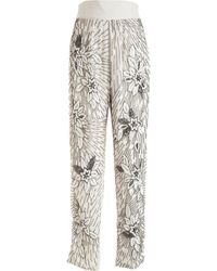 Rodarte x Opening Ceremony Beaded Pant - Lyst