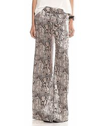 Alexis Foster Pant in Taupe Snake - Lyst