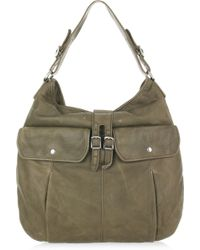 J.Crew | Apotheke Leather Hobo Bag | Lyst