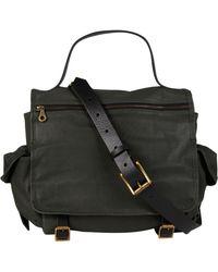 Jas MB | Green Riley Leather Satchel Bag | Lyst