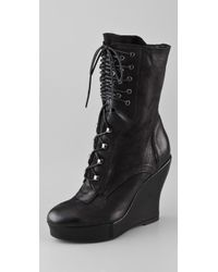 Boutique 9 - Bojana Platform Wedge Boots - Lyst