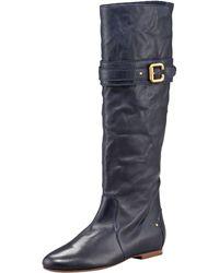 Chloé - Paddington-buckle Flat Boot - Lyst