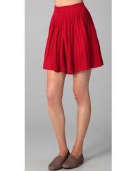 Dolce Vita - Allegra Pleated Knit Skirt - Lyst