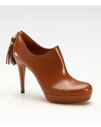 Gucci Betty Mid-heel Ankle Boots - Lyst