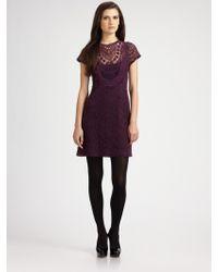Nanette Lepore Fling Lace Dress - Lyst