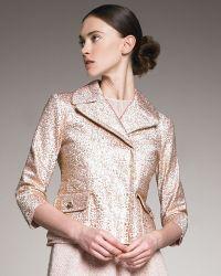 Nina Ricci Jacquard Cropped Jacket - Lyst