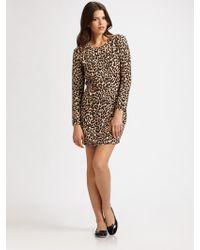 Steven Alan - Carolyn Silk Leopard-print Dress - Lyst
