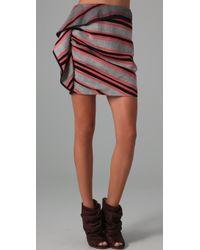 Thakoon - Side Draped Skirt - Lyst