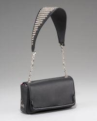 Christian Louboutin Artemis Studded Shoulder Bag - Lyst