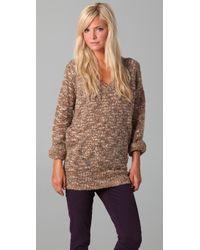 Dallin Chase - Larry V Neck Sweater - Lyst