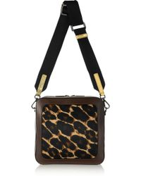 Meredith Wendell - Fishbowl Calf Hair and Leather Shoulder Bag - Lyst