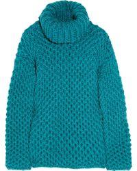 Reed Krakoff - Hand-knit Turtleneck Jumper - Lyst