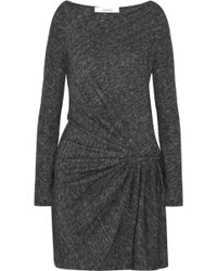 Thakoon Addition - Gathered Slub-jersey Dress - Lyst