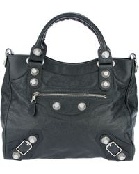 Balenciaga Giant Bag gray - Lyst