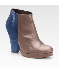 Rachel Comey Knox Leather & Suede Ankle Boots - Lyst