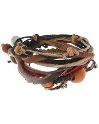 ASOS - Asos Multi Beaded Leather Bracelet Pack - Lyst