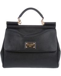 Dolce & Gabbana Miss Sicily Handbag black - Lyst
