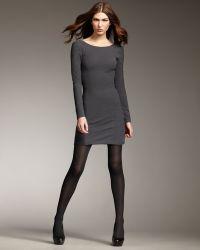 Theyskens' Theory - Open-back Long-sleeve Dress - Lyst