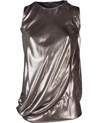 Thimister - Lame Silver Top - Lyst