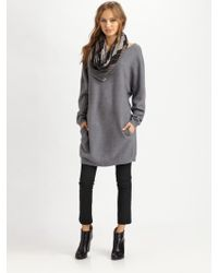 Vince Boatneck Slouchy Sweater - Lyst