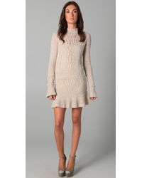 Theyskens' Theory Knock Yara Sweater Dress - Lyst