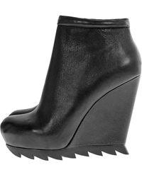 Camilla Skovgaard Saw Sole Wedge Ankle Boot - Lyst