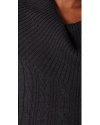 HHH by Haute Hippie - Layer Up Cable Sweater Dress - Lyst