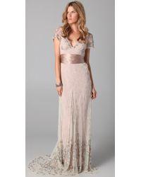 Temperley London Long Honeysuckle Dress - Lyst