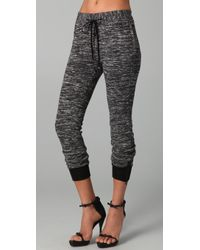 3.1 Phillip Lim Drawstring Sweatpants with Ankle Zips - Lyst