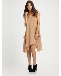 Marc By Marc Jacobs Shelly Silk Voile Dress - Lyst