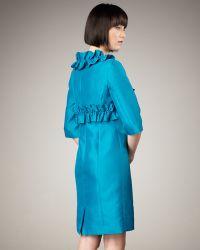 Bigio Collection - Ruffled Bolero & Sleeveless Dress - Lyst