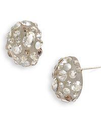 Alexis Bittar Cosmic Dust Small Bean Earrings - Lyst