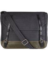 Ally Capellino - Charcoal Danny Messenger Bag - Lyst