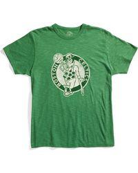 Banner 47 Boston Celtics Regular Fit Crewneck T-shirt (men) - Lyst