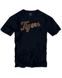 Banner 47 Detroit Tigers Regular Fit Crewneck T-shirt (men) - Lyst