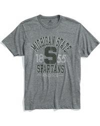 Banner 47 Michigan State Spartans Regular Fit Crewneck T-shirt (men) - Lyst