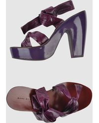 Marc By Marc Jacobs Platform Sandals - Lyst