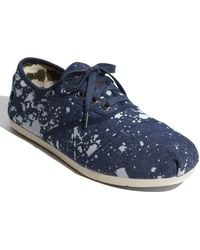 TOMS Cordones Chambray Slip-on (men) - Lyst