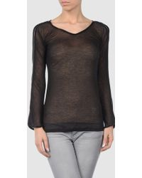 Anne Valerie Hash Long Sleeve T Shirts - Lyst