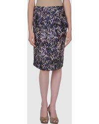 Dries Van Noten Knee Length Skirts - Lyst