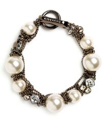Givenchy Small Faux Pearl Bracelet - Lyst