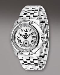 Glam Rock | Diamond-bezel Bracelet Watch | Lyst