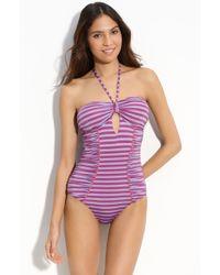 Nanette Lepore Seductress One Piece Swimsuit - Lyst