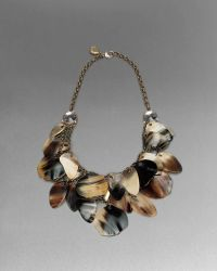 St. John - Horn Statement Necklace - Lyst