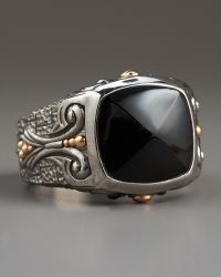 Stephen Webster Lg Inlay Signet Ring Onyx - Lyst