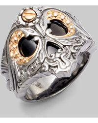 Stephen Webster Skull Ring - Lyst