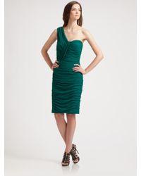Tadashi Shoji Asymmetrical Dress - Lyst
