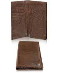 A.Testoni - Caribou Leather Organizer Coat Wallet - Lyst